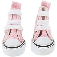Kesoto 1/6スケール バービー人形適用 ペア キャンバス シューズ 靴 ファッション 女の子 贈り物