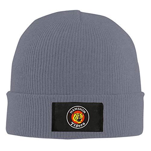 阪神タイガース1 ニット帽 帽子 ニット ロゴ グレー アウトドアファッション 登山ファッション ユニセックス キャンプ 登山