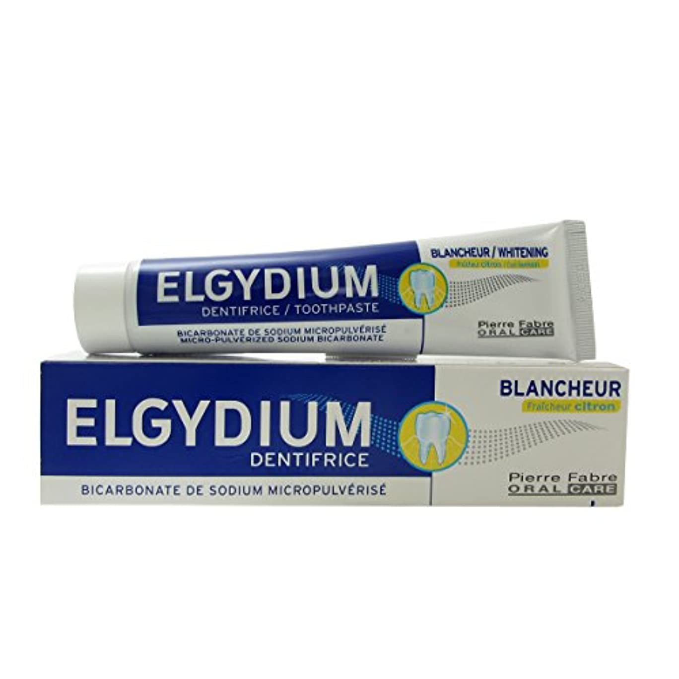 適用済み約顎Elgydium Whitening Cool Lemon Toothpaste 75ml [並行輸入品]