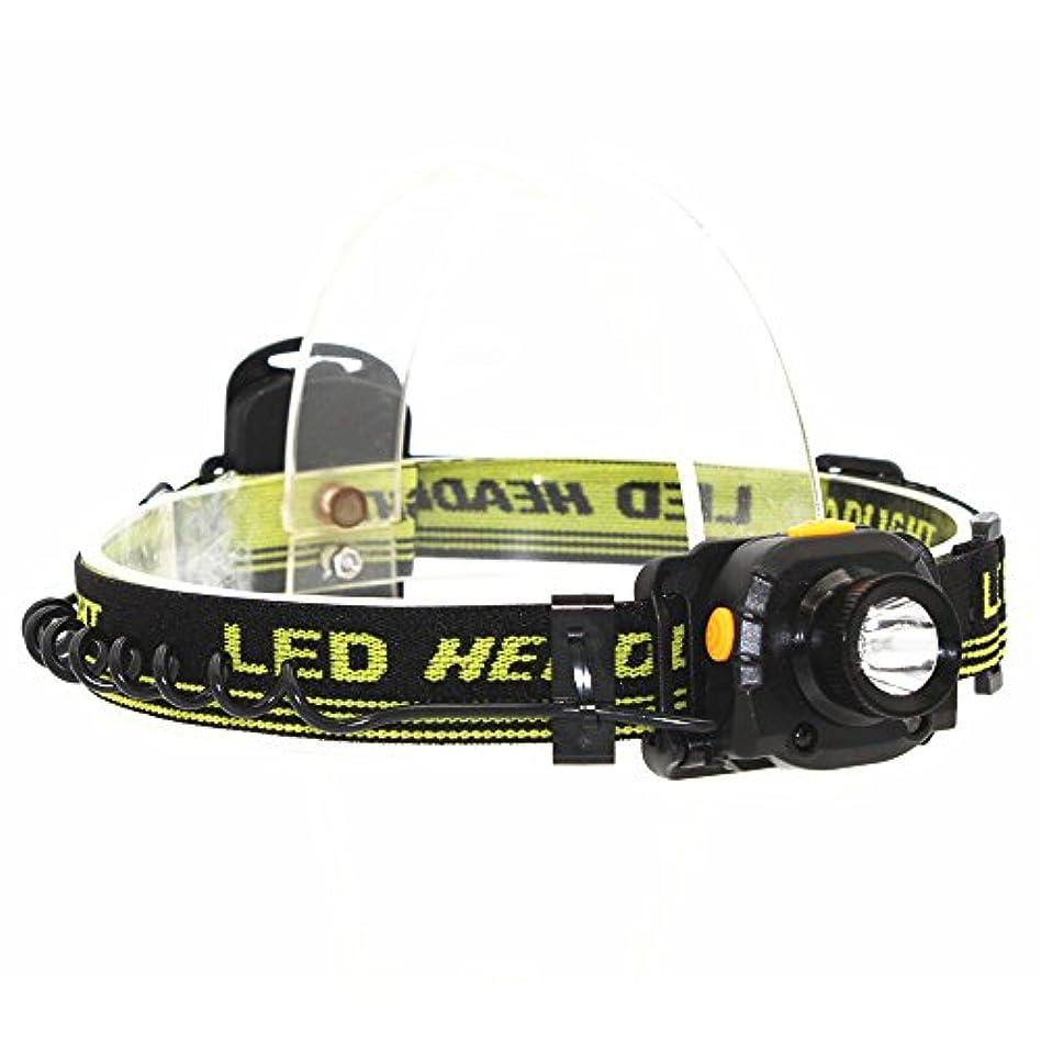 絶え間ない吸収調整KC Fire ヘッドライト 超強力LED 明るさ180ルーメン モーションセンサー 防水仕様