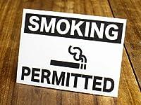 サイン&ラベルステッカー SIGNS & LABELS series 「喫煙できます」_SC-MD051-SXW