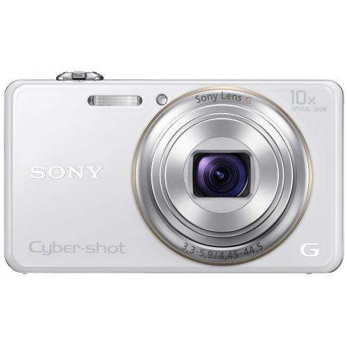 ソニー SONY Cyber-shot WX100 (1820万/光学x10) ホワイト
