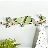 家庭の照明- アメリカの田舎の鳥の服のフッククリエイティブエントランスポーチフィッティングルームフック壁掛けキーフレーム装飾的なフック ( 色 : 1# )