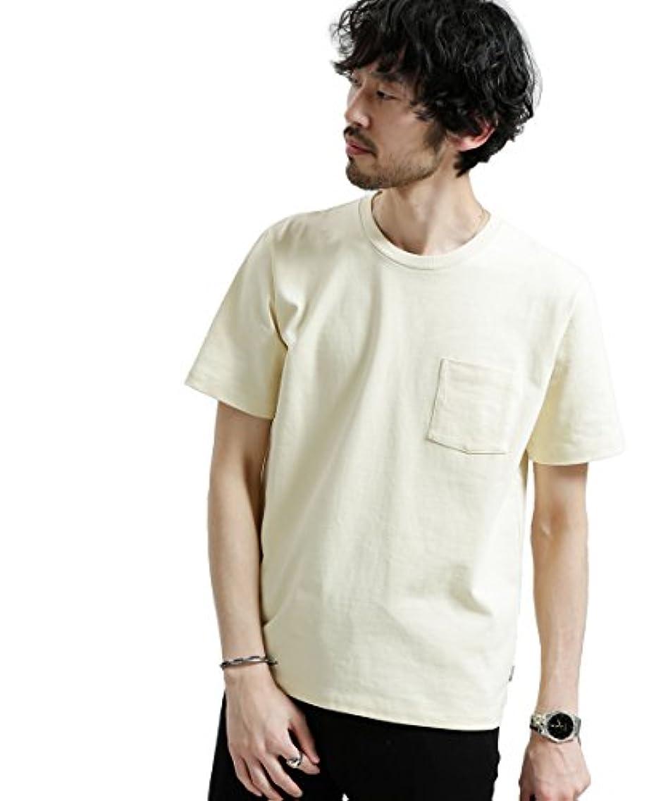 煙活性化チャートナノ?ユニバース(nano?universe) ポケット付きBig Tシャツ