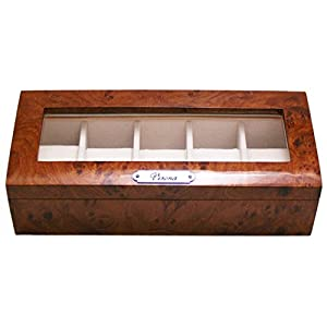 [サンブランド]SUNBRAND 木製時計収納ケース 5P用 189962