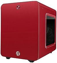 RAIJINTEK METIS PLUSシリーズ キューブ型アルミニウム製Mini-ITXケース 0R200056 (METIS PLUS RED)