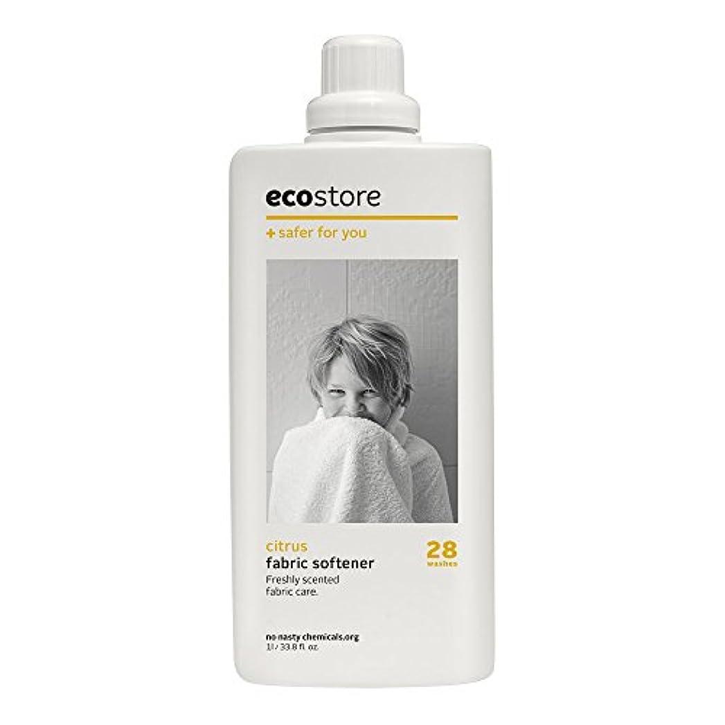 追放滅びる音ecostore(エコストア) ファブリックソフナー 【シトラス】 1L 柔軟仕上げ剤
