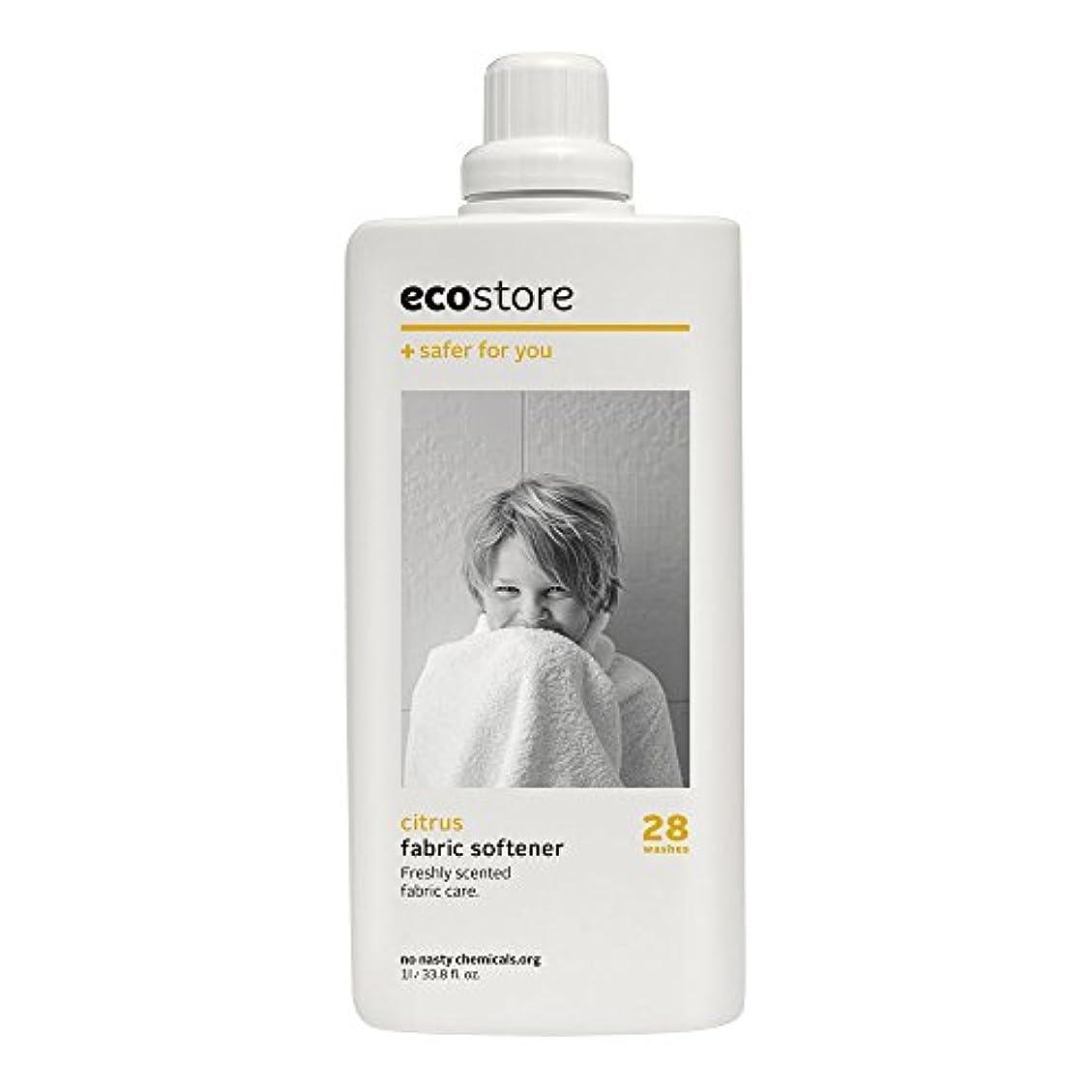 配管調整する不承認ecostore(エコストア) ファブリックソフナー 【シトラス】 1L 柔軟仕上げ剤