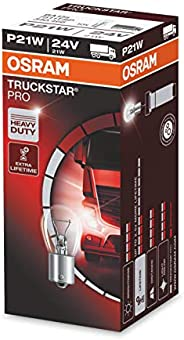 OSRAM 7511TSP Truckstar Pro P21W, Halogen Signal Lamp, Brake Light, Rear Fog Light, 24 V Commercial Vehicle, F