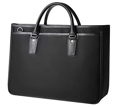 [グレヴィオ] ビジネスバッグ シンプルブラック