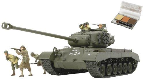 スケール限定シリーズ 1/35 アメリカ戦車 スーパーパーシング T26E4 (ウェザリングマスター付き) 25138