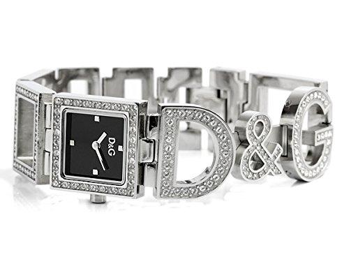 D&G ドルガバ 腕時計 レディース NIGHT & DAY ナイト アンド デイ 女性用 ブラック 3719251532 [並行輸入品]