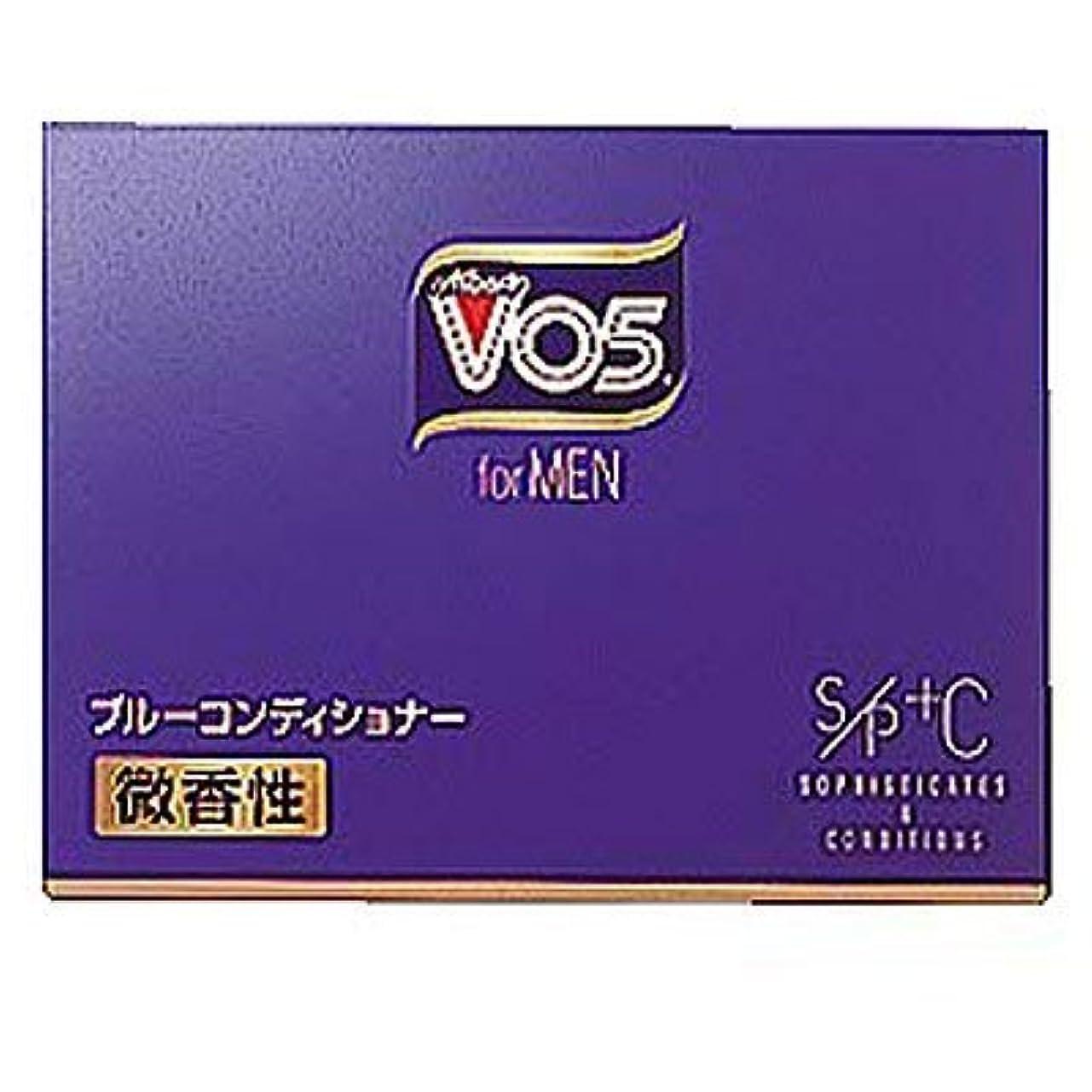 まっすぐにする比べる指定VO5 forMEN ブルーコンディショナー 微香性 85g