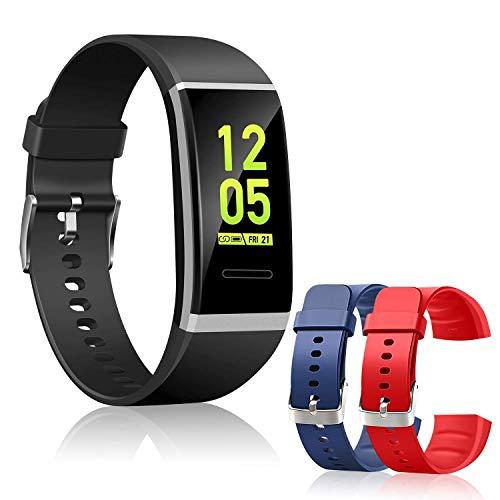 スマートブレスレット スマートウォッチ カラースクリーン スポーツウォッチ 生理周期管理 血圧計 心拍計 ...