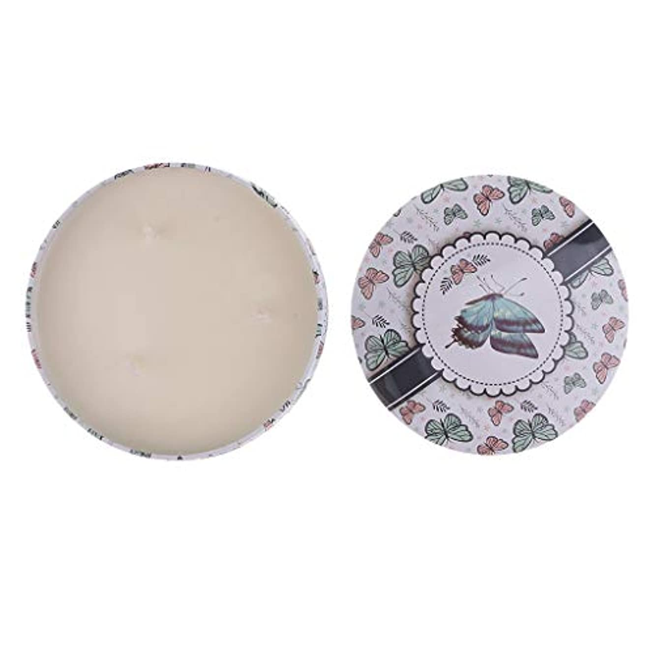 ピック広がりアレイD DOLITY アロマキャンドル 3ウィック 香り付き 旅行 蝋燭 約23時間 贈り物 2種選ぶ - 1, 130x55mm