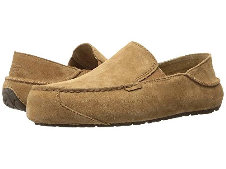 不倫母音現金[UGG(アグ)] メンズローファー?スリッポン?靴 Upshaw Chestnut 12 (30cm) D - Medium