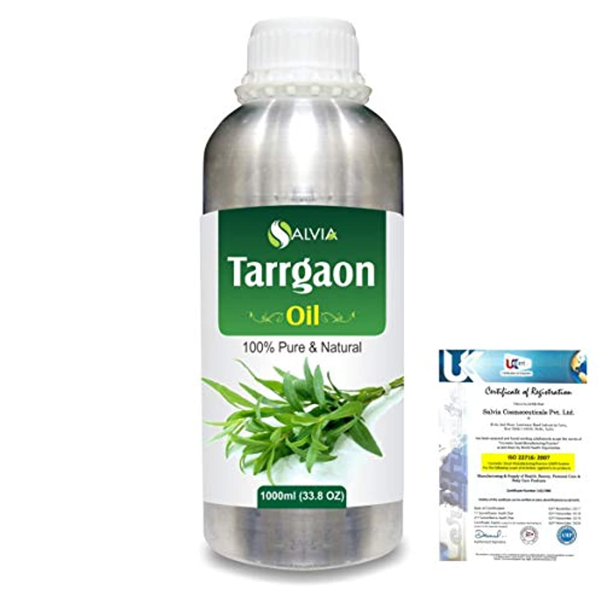 暴力ディスパッチすみませんTarrgaon (Artemisia Dracunculus) 100% Natural Pure Essential Oil 1000ml/33.8fl.oz.