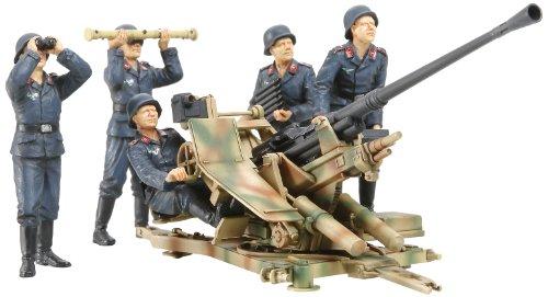 1/35 ミリタリーミニチュアシリーズ No.302 1/35 ドイツ 3.7cm 対空機関砲 37型 クルーセット 35302