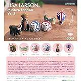 カプセルQミュージアム リサ・ラーソン ミニチュアファブリカ Vol.3 [全6種セット(フルコンプ)]