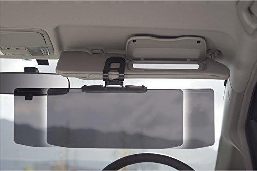 UVワイドバイザー 【日よけ クリップ 車 カー用品 おすすめ 紫外線カット F7411-12】