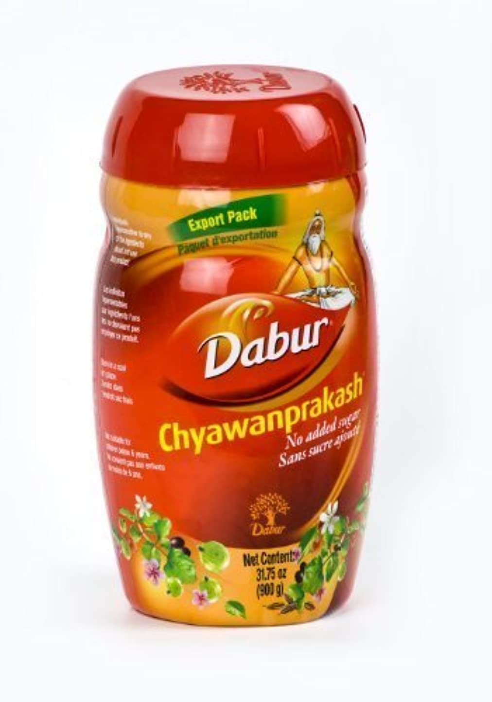 ストライド不変アドバイスDabur Chywan Prakash (Chyawanprash) No Added Sugar 900g by Dabur [並行輸入品]