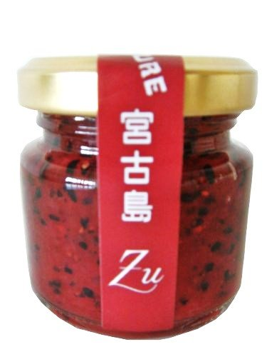 ドラゴンフルーツジャム 50g×2瓶 南国食楽Zu 赤いドラゴンフルーツを使用した見た目鮮やかなコンフィチュール とろみのある甘酸っぱいジャム