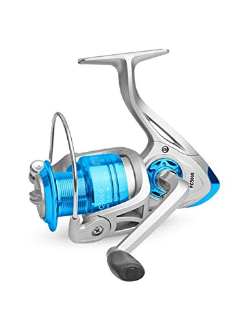 まとめるコミットメント処方する軽量釣り用リール、防錆ベアリング10:4.7:1、左右の交換可能ハンドル、塩水と淡水に最適、初心者に最適 (Size : 2000)