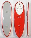 """5'10"""" Hawaiian Pro Designs (ハワイアンプロデザイン)Scorpion モデル [Red/Lt gray] ドナルドタカヤマ HPD スコーピオン"""