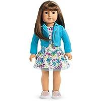 American Girl - 2017 Truly Me Doll: Light Skin Brown Hair with Bangs Brown Eyes DN13 [並行輸入品]