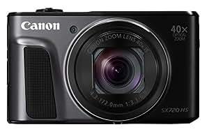 Canon デジタルカメラ PowerShot SX720 HS ブラック 光学40倍ズーム PSSX720HSBK