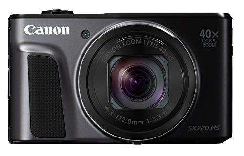 Canon デジタルカメラ PowerShot SX720 HS ブラック 光学40倍ズーム PSS...