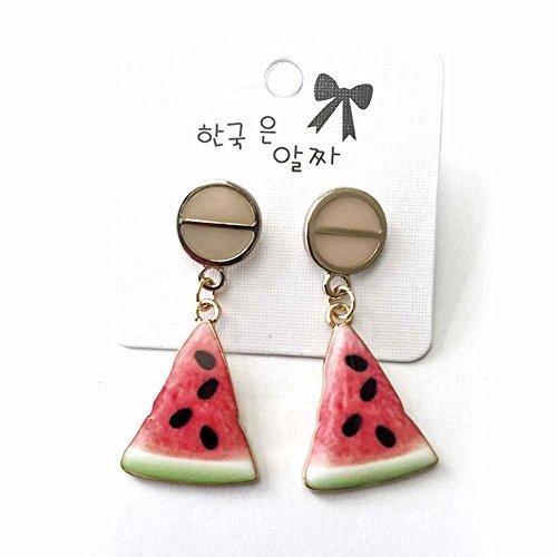 Dephekg  ピアス イヤリング 果物の型 シンプル 可愛い ファッション レディース  アクセサリー小物 ギフト