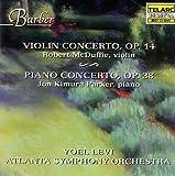 バーバー:ヴァイオリン協奏曲 画像
