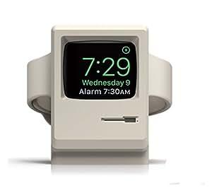 Elago W3 Stand Apple Watch アップルウォッチ充電スタンド1,2世代公共(並行輸入品) (White)