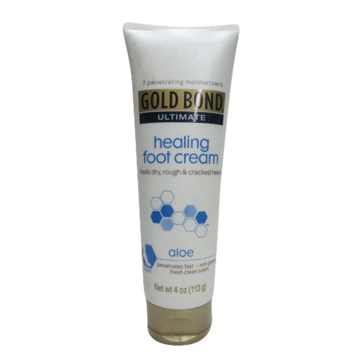 祖父母を訪問見捨てるむちゃくちゃGold Bond Healing Foot Therapy Cream 120 ml (並行輸入品)