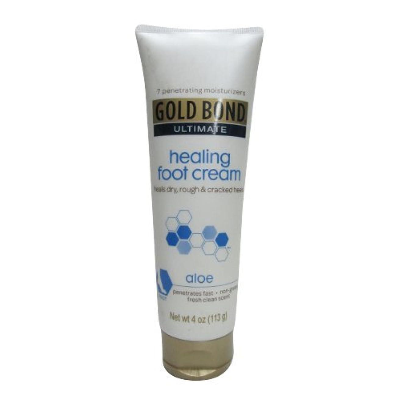 香りチャペル悲観的Gold Bond Healing Foot Therapy Cream 120 ml (並行輸入品)