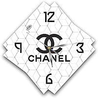 COCO CHANEL 11'' 壁時計 ココ?シャネル あなたの友人のための最高の贈り物。あなたの家のためのオリジナルデザイン。