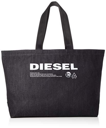 (ディーゼル) DIESEL Men's トートバック X05513PR413 UNI ダークインディゴブルー T6065
