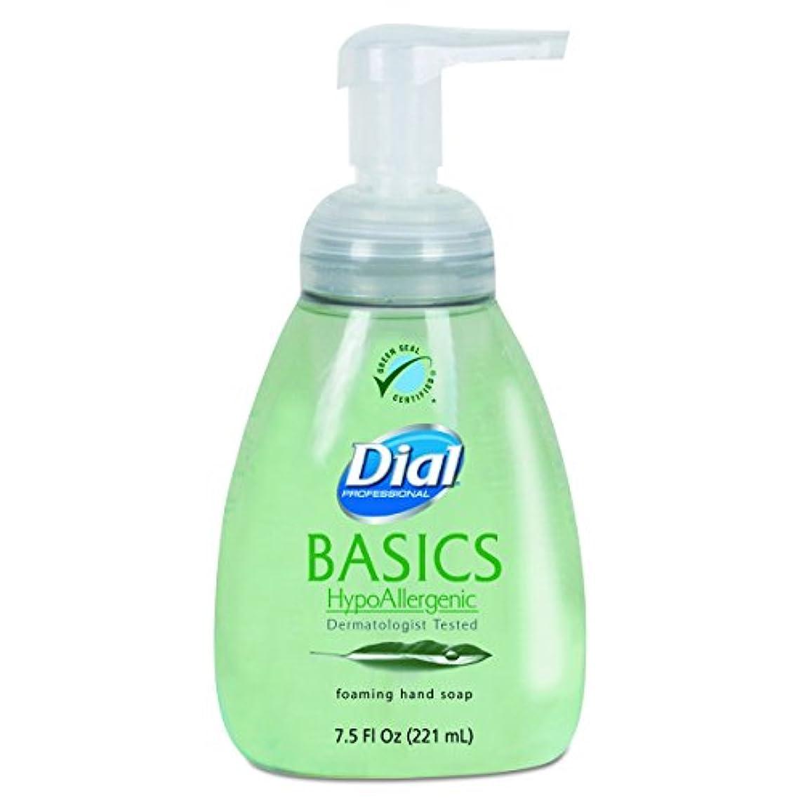 学部長上に暴力的なダイヤルProfessional 6042 Basics Foaming Hand Soap、7.5 Oz、Honeysuckle