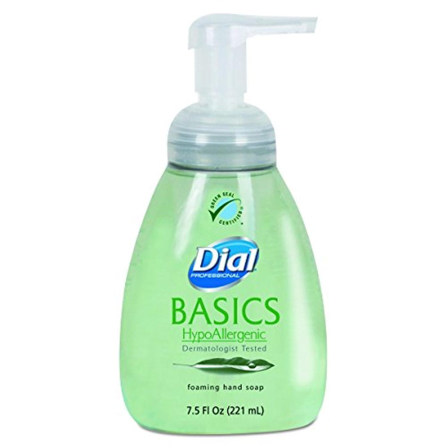 ステップ策定する大いにダイヤルProfessional 6042 Basics Foaming Hand Soap、7.5 Oz、Honeysuckle