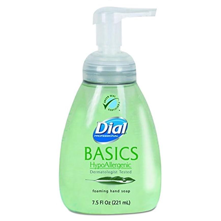 欠点裏切り者憂鬱なダイヤルProfessional 6042 Basics Foaming Hand Soap、7.5 Oz、Honeysuckle
