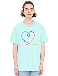(グラニフ) graniph Tシャツ ヴェイパートレイルハート (プール) メンズ ユニセックス