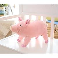 HuaQingPiJu-JP 38センチメートル高い豚のぬいぐるみ柔らかいぬいぐるみぬいぐるみウェディング子供ギフト(ピンク)