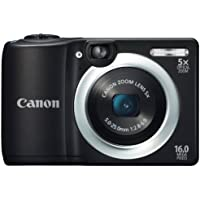Canon デジタルカメラ PowerShot A1400 約1600万画素 光学5倍ズーム ブラック PSA1400