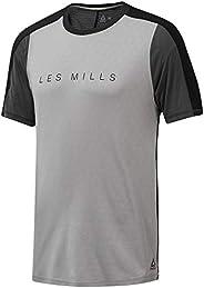Reebok Les Mills Smart Vent Move Tee, Solid Grey, L