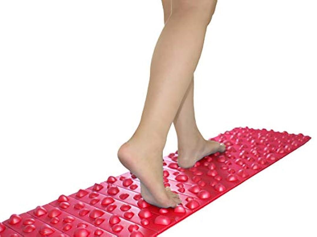 前提条件率直なベテランバランスワン 足ツボマット(120cm) (赤)