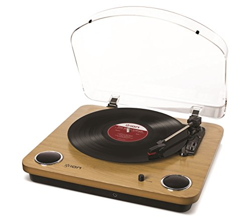 ION Audio Max LP レコードプレーヤー USB端子 スピーカー...