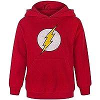 Flash Distressed Logo Boy's Hoodie