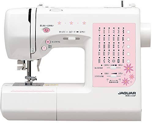 JAGUAR コンピュータミシン 自動糸調子付き高性能モデル MM-115P