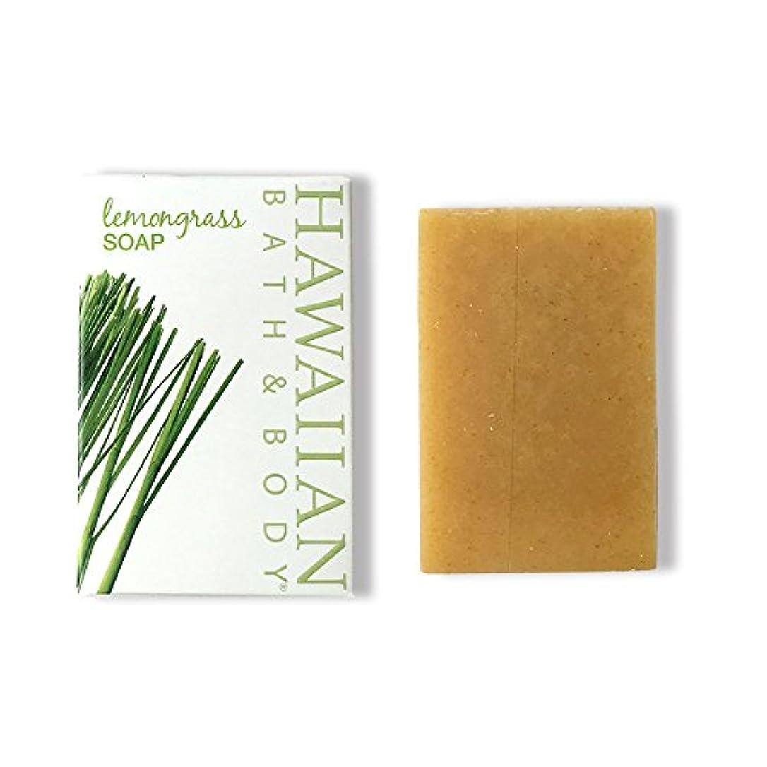 文字キラウエア山からハワイアンバス&ボディ ジンジャーレモングラスソープ ( Ginger Lemon Grass Soap )